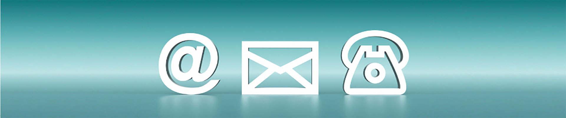 Email and Phone symbols